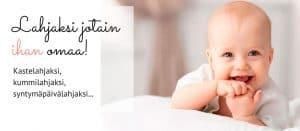 Lahjaidea vauvalle! Nimiäislahja, kummilahja, kastelahja tai syntymäpäivälahja - nimilahja vauvan omalla nimellä on jotain ihan ikiomaa!