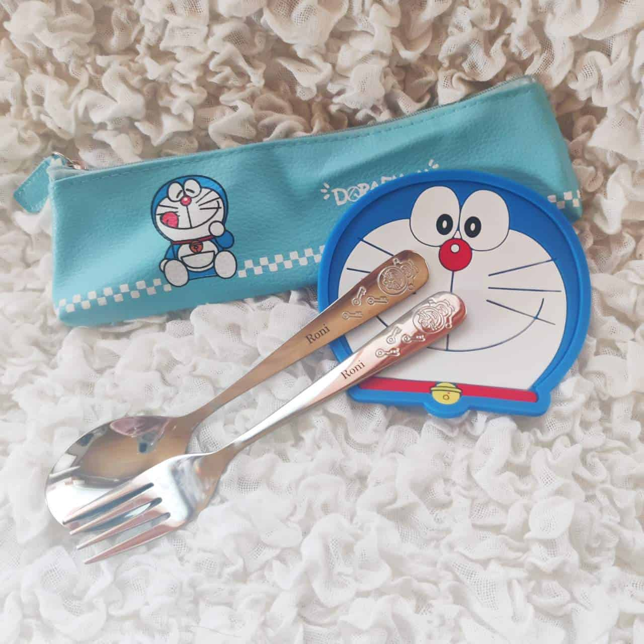 Doraemon_nimikoidut_lasten_aterimet
